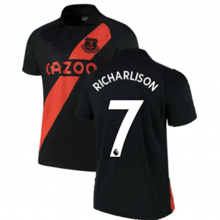 2021-2022 Everton Away Shirt (RICHARLISON 7)