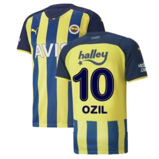 2021-2022 Fenerbahce Home Shirt (Ozil 10)