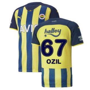 2021-2022 Fenerbahce Home Shirt (Ozil 67)