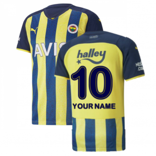 2021-2022 Fenerbahce Home Shirt (Your Name)