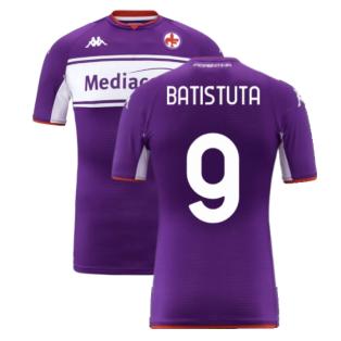 2021-2022 Fiorentina Home Shirt (BATISTUTA 9)