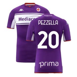 2021-2022 Fiorentina Home Shirt (Kids) (PEZZELLA 20)