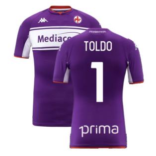 2021-2022 Fiorentina Home Shirt (Kids) (TOLDO 1)