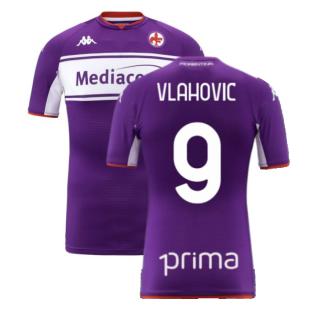 2021-2022 Fiorentina Home Shirt (Kids) (VLAHOVIC 9)