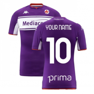 2021-2022 Fiorentina Home Shirt (Kids) (Your Name)
