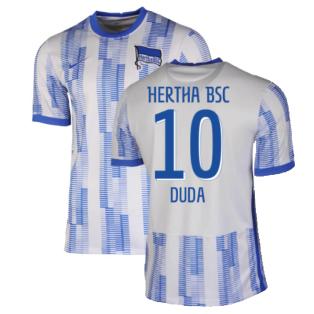 2021-2022 Hertha Berlin Home Shirt (DUDA 10)