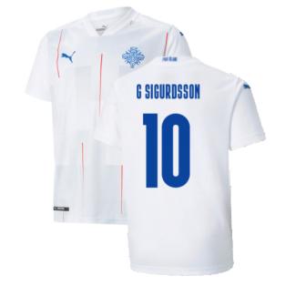 2021-2022 Iceland Away Shirt (G SIGURDSSON 10)