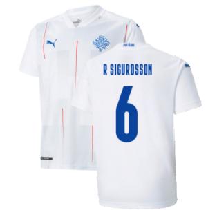 2021-2022 Iceland Away Shirt (R SIGURDSSON 6)