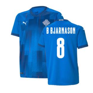 2021-2022 Iceland Home Shirt (B Bjarnason 8)