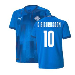 2021-2022 Iceland Home Shirt (G Sigurdsson 10)