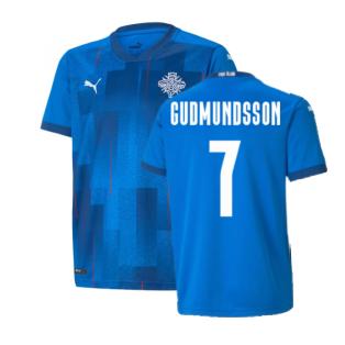 2021-2022 Iceland Home Shirt (Gudmundsson 7)