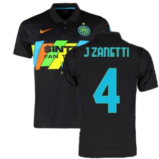2021-2022 Inter Milan 3rd Shirt (Kids) (J ZANETTI 4)