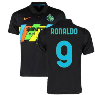 2021-2022 Inter Milan 3rd Shirt (Kids) (RONALDO 9)