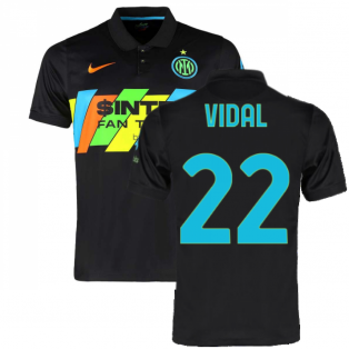 2021-2022 Inter Milan 3rd Shirt (Kids) (VIDAL 22)