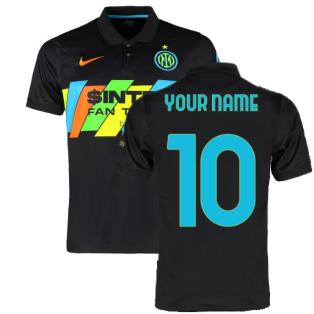 2021-2022 Inter Milan 3rd Shirt (Kids) (Your Name)