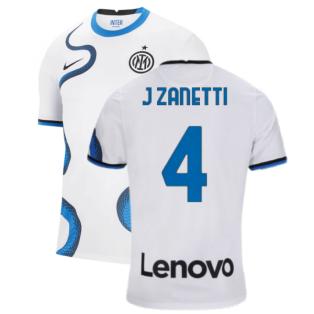 2021-2022 Inter Milan Away Shirt (J ZANETTI 4)