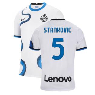 2021-2022 Inter Milan Away Shirt (Kids) (STANKOVIC 5)