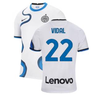2021-2022 Inter Milan Away Shirt (Kids) (VIDAL 22)