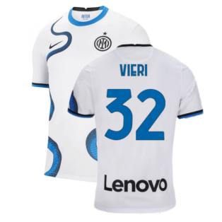 2021-2022 Inter Milan Away Shirt (Kids) (VIERI 32)