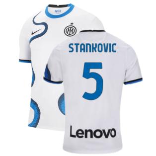 2021-2022 Inter Milan Away Shirt (STANKOVIC 5)