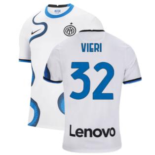 2021-2022 Inter Milan Away Shirt (VIERI 32)