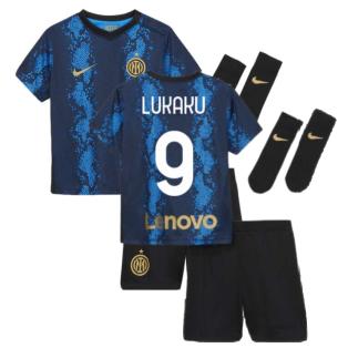 2021-2022 Inter Milan Home Baby Kit (LUKAKU 9)