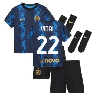 2021-2022 Inter Milan Home Baby Kit (VIDAL 22)