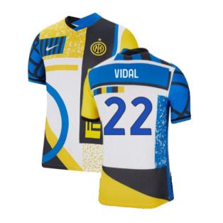 2021-2022 Inter Milan Vapor 4th Shirt (VIDAL 22)