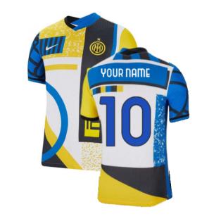 2021-2022 Inter Milan Vapor 4th Shirt (Your Name)
