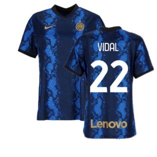 2021-2022 Inter Milan Womens Home Shirt (VIDAL 22)