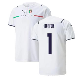 2021-2022 Italy Away Shirt (BUFFON 1)