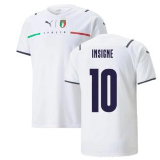 2021-2022 Italy Away Shirt (INSIGNE 10)