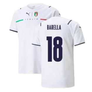 2021-2022 Italy Away Shirt (Kids) (BARELLA 18)