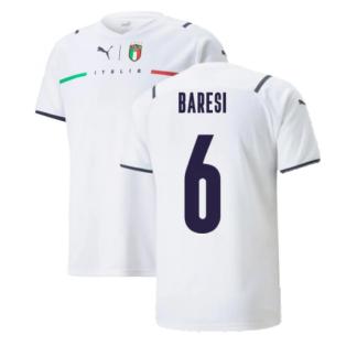 2021-2022 Italy Away Shirt (Kids) (BARESI 6)