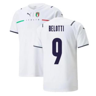 2021-2022 Italy Away Shirt (Kids) (BELOTTI 9)
