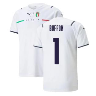 2021-2022 Italy Away Shirt (Kids) (BUFFON 1)