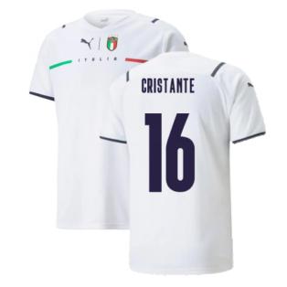 2021-2022 Italy Away Shirt (Kids) (CRISTANTE 16)