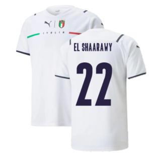 2021-2022 Italy Away Shirt (Kids) (EL SHAARAWY 22)