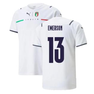 2021-2022 Italy Away Shirt (Kids) (EMERSON 13)