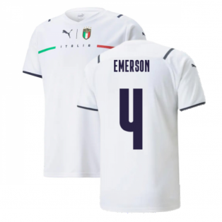 2021-2022 Italy Away Shirt (Kids) (EMERSON 4)