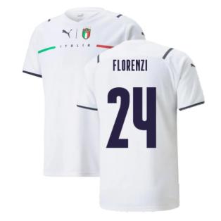 2021-2022 Italy Away Shirt (Kids) (FLORENZI 24)
