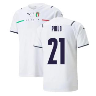 2021-2022 Italy Away Shirt (Kids) (PIRLO 21)