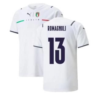 2021-2022 Italy Away Shirt (Kids) (ROMAGNOLI 13)