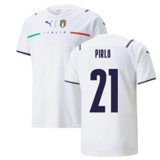2021-2022 Italy Away Shirt (PIRLO 21)