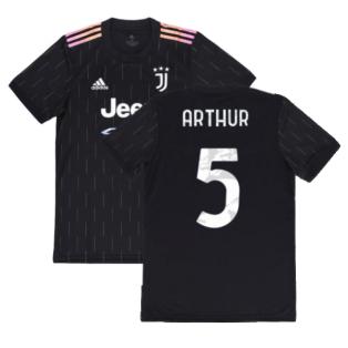 2021-2022 Juventus Away Shirt (ARTHUR 5)