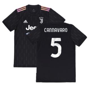 2021-2022 Juventus Away Shirt (CANNAVARO 5)