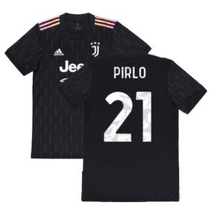 2021-2022 Juventus Away Shirt (Kids) (PIRLO 21)