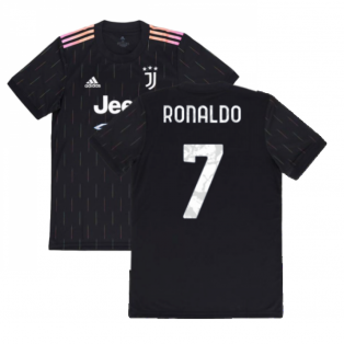 2021-2022 Juventus Away Shirt (Kids) (RONALDO 7)