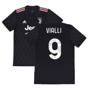 2021-2022 Juventus Away Shirt (Kids) (VIALLI 9)