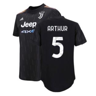 2021-2022 Juventus Away Shirt (Ladies) (ARTHUR 5)
